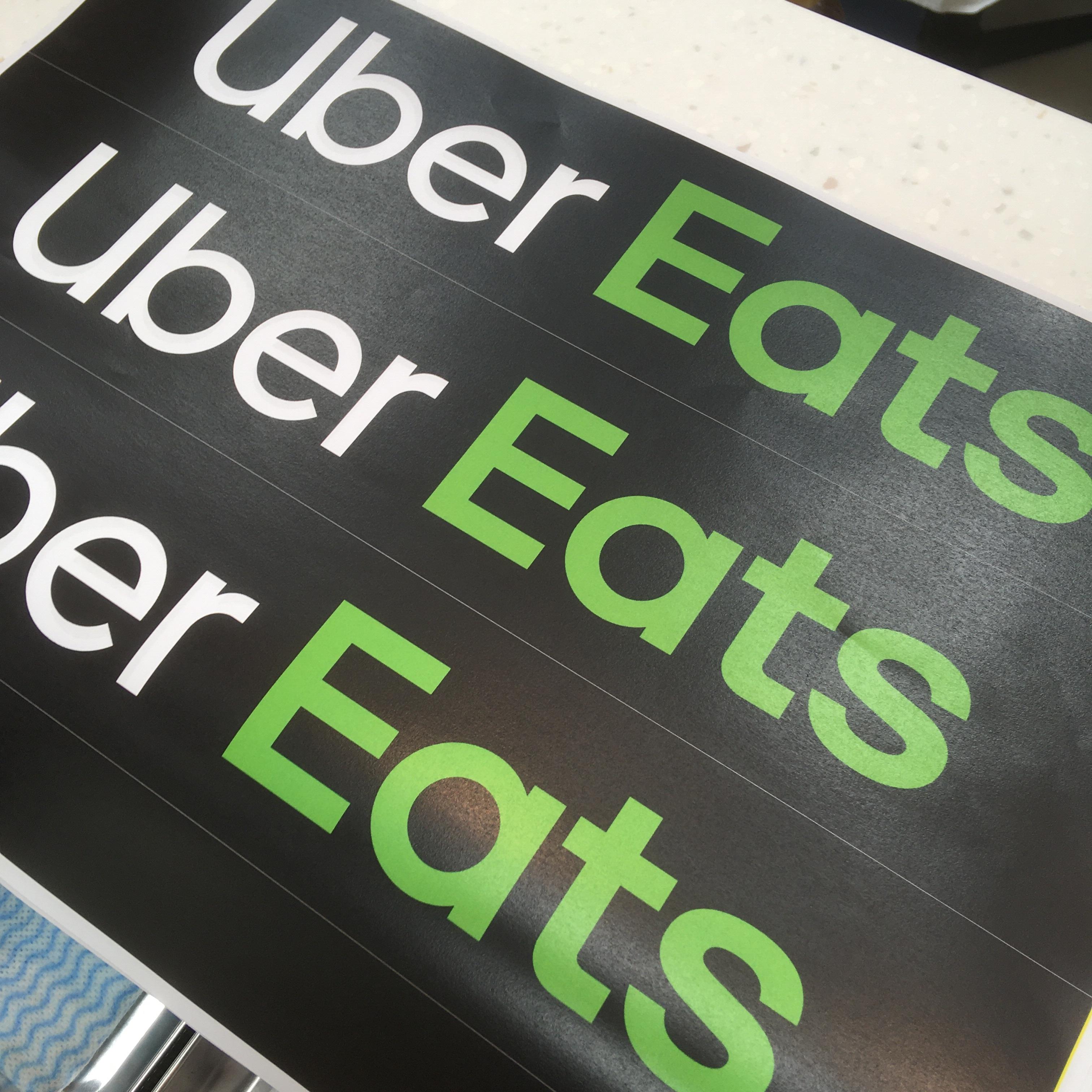 Uber Eatsはじめました。